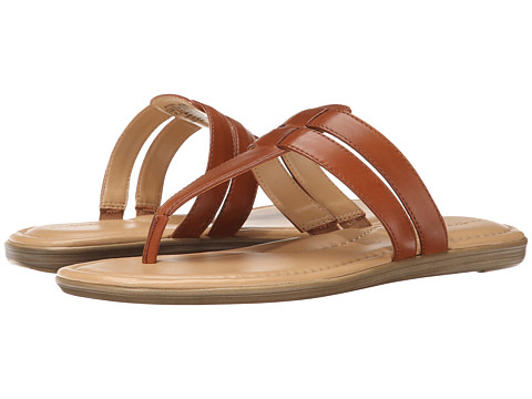 Rockport - Jeanie Double Strap Thong (Tan) Women's Shoes