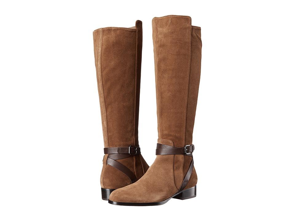 Via Spiga - Prish (Rattan/T.Moro Sport Suede/Safari Calf) Women's Boots