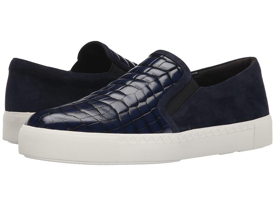 Via Spiga - Maliah (Navy/Twilight Tobarra Croc Print/Kid Suede) Women