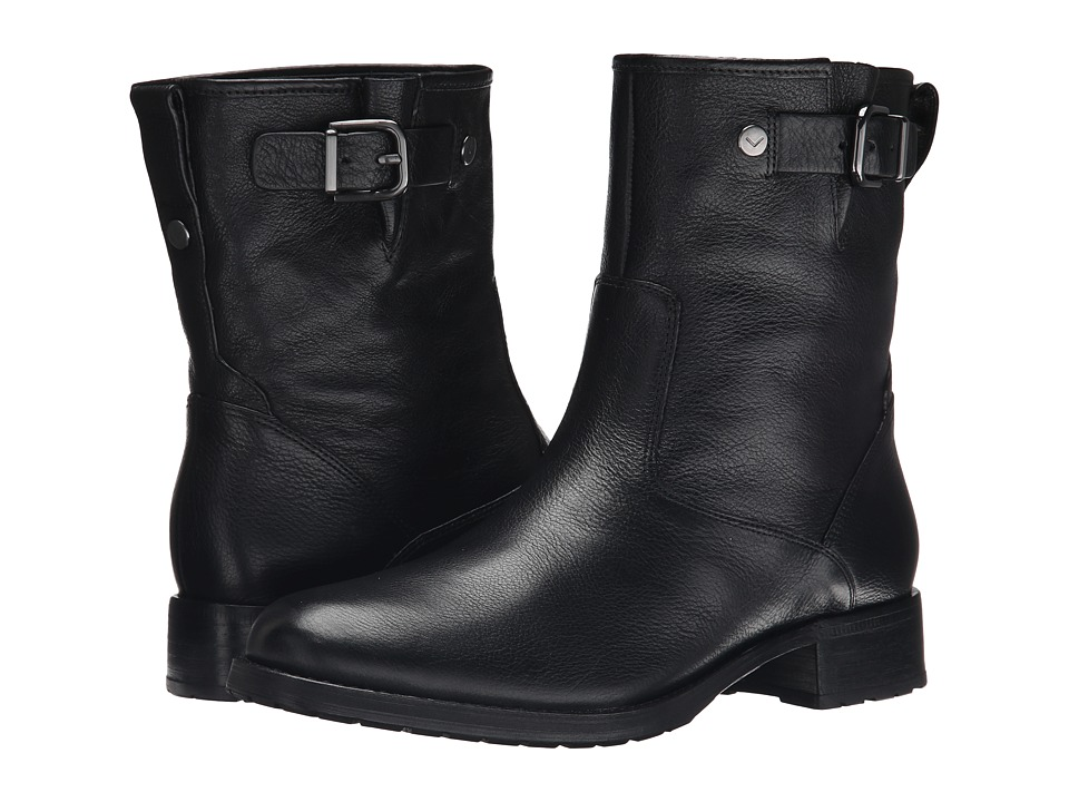Via Spiga - Kiana (Black Toledo Tumbled Calf) Women