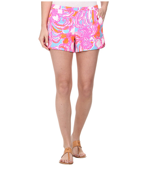 Lilly Pulitzer - Adie Shorts (Shorely Blue Feeling Tanked) Women