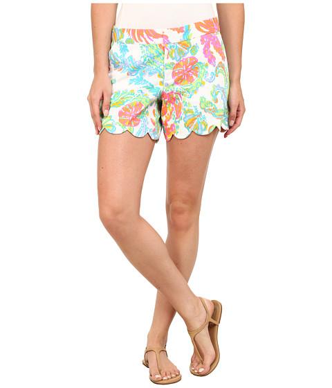 Lilly Pulitzer - Buttercup Shorts (Resort White Casa Marina) Women