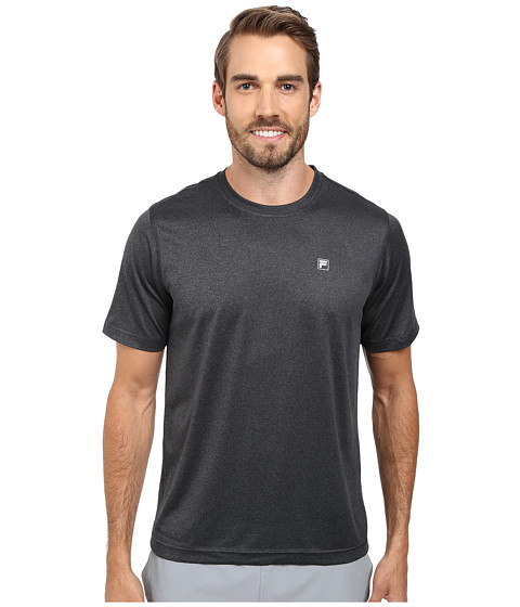 Fila - Sport Tech Tee (Black Heather) Men's T Shirt