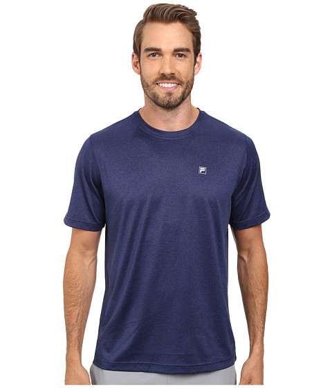 Fila - Sport Tech Tee (Navy Power Heather) Men
