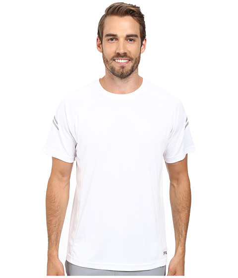 Fila - See Me Crew (White) Men's Clothing