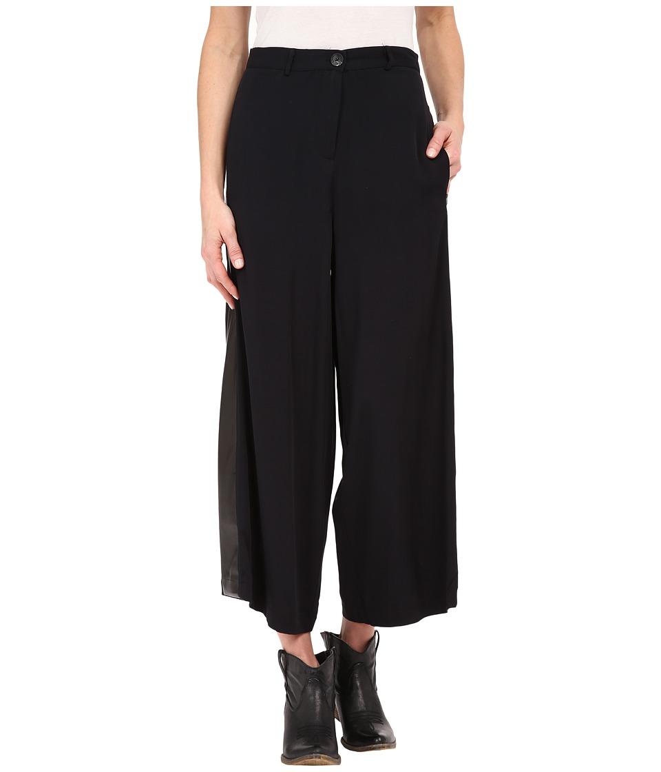 Tasha Polizzi - Gaucho Pants (Black) Women's Casual Pants