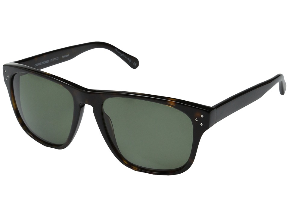 Oliver Peoples - DBS (Oak/G15 Polarized) Fashion Sunglasses