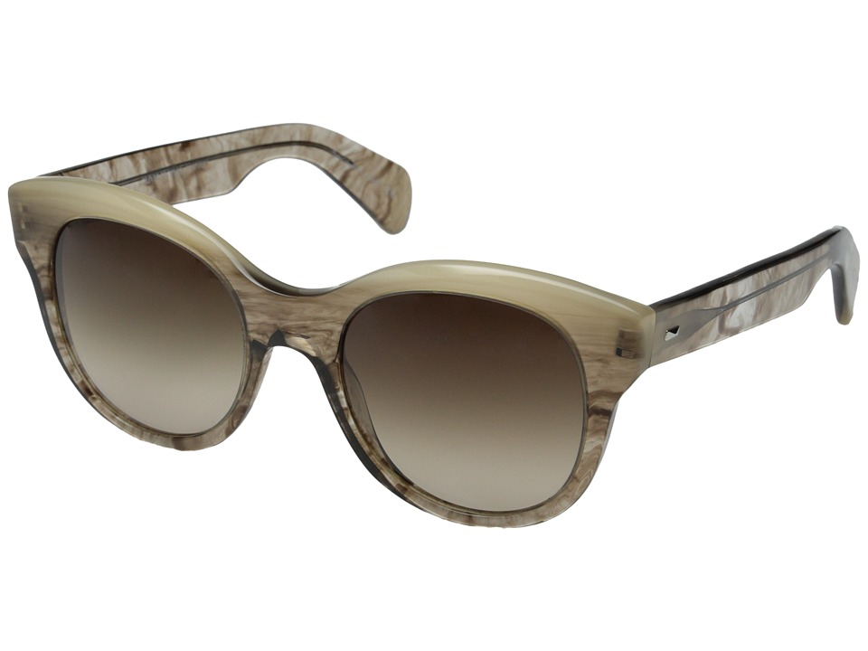 Oliver Peoples - Jacey (Pecan Pie/Umber Gradient) Fashion Sunglasses