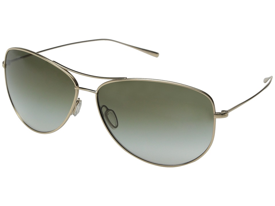 Oliver Peoples - Kempner (Gold/Olive Gradient) Fashion Sunglasses