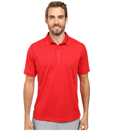 Fila - Carved Out Polo (Chinesr Red/Navy Power) Men's Clothing