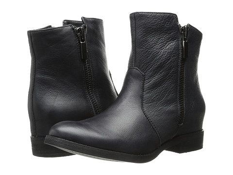 Kenneth Cole New York - Marcy (Black Leather) Women's Zip Boots