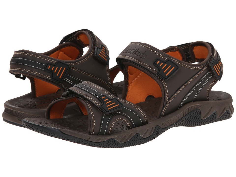 Maine Woods - Eagle (Brown/Orange) Men's Sandals