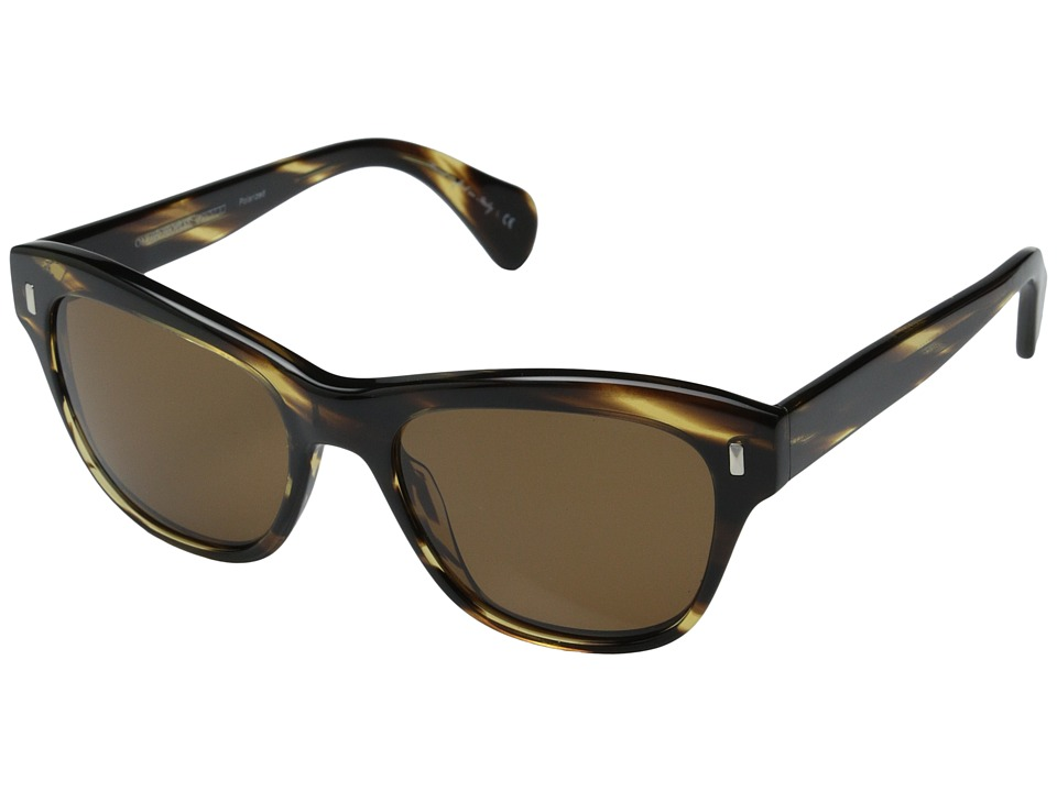 Oliver Peoples - Sofee (Cocobolo/Brown Polarized) Fashion Sunglasses