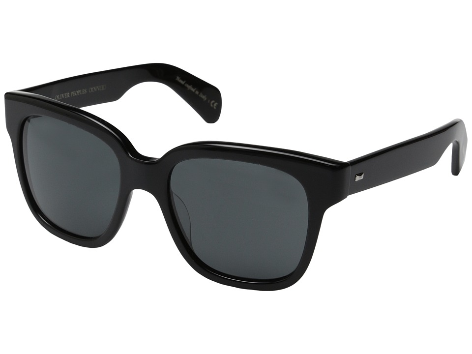 Oliver Peoples - Brinley (Black/Grey) Fashion Sunglasses