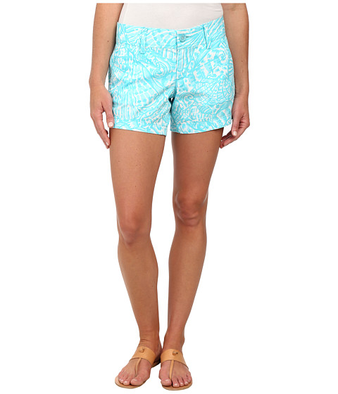 Lilly Pulitzer - Callahan Short (Shorely Blue Sea Cups) Women's Shorts