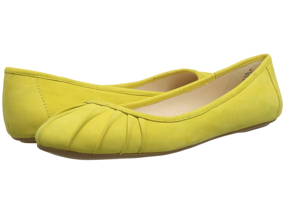 Nine West - Blustery (Yellow Nubuck) Women