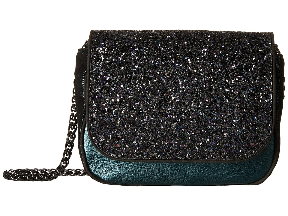 Sam Edelman - Waverly Crossbody (Midnight/Winter Teal/Black) Cross Body Handbags