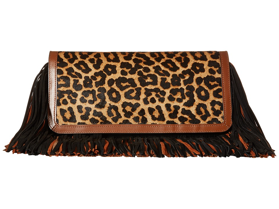 Sam Edelman - Fifi Clutch (Brown/Chestnut/Black) Clutch Handbags