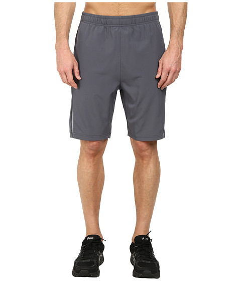 Fila - Woven Piped Shorts (Slate Grey/High Rise) Men's Shorts