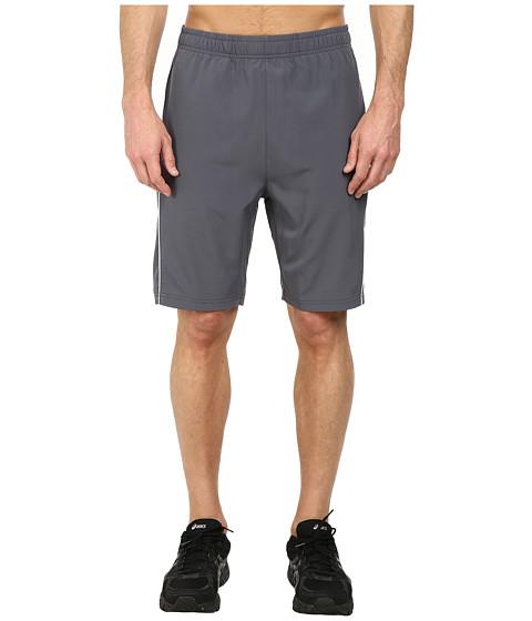 Fila - Woven Piped Shorts (Slate Grey/High Rise) Men