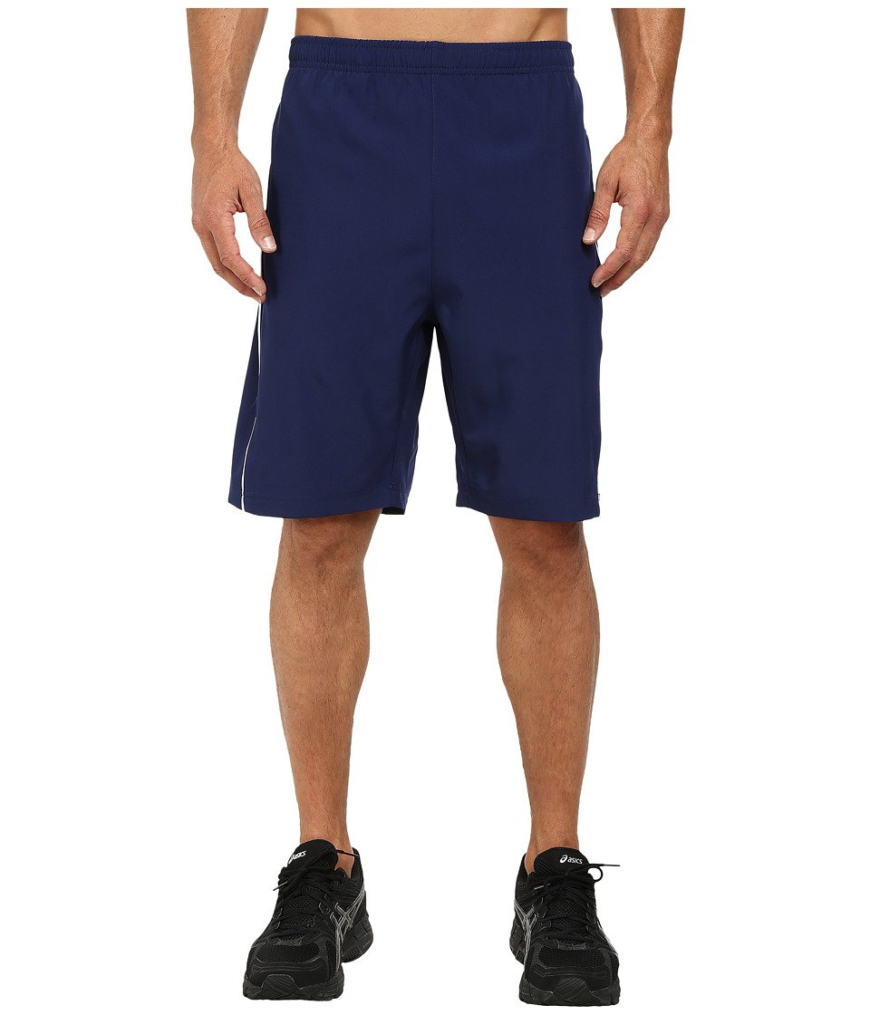 Fila - Woven Piped Shorts (Navy Power/White) Men's Shorts