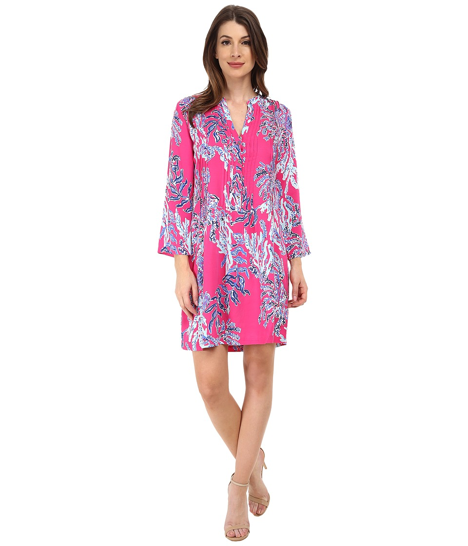 Lilly Pulitzer - Sarasota Tunic (Capri Pink Samba) Women's Dress