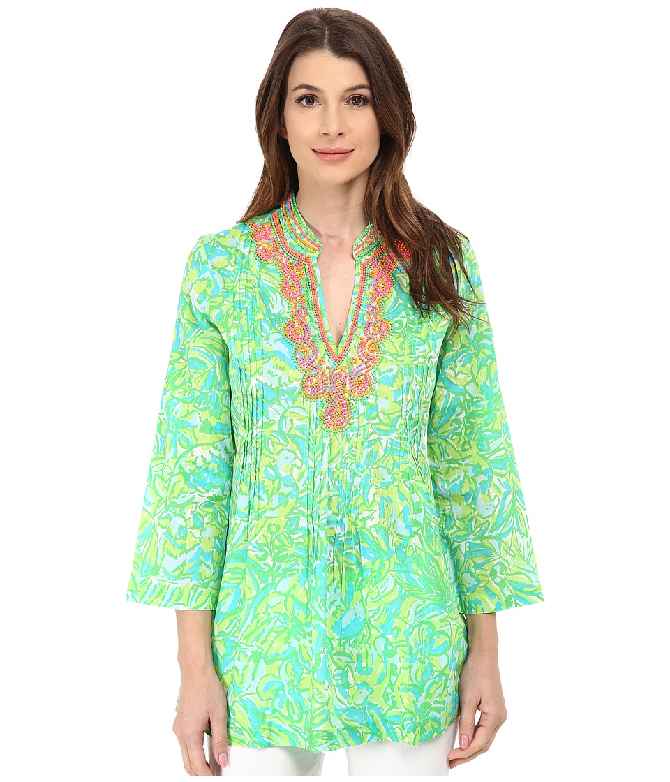 Lilly Pulitzer - Sarasota Tunic (Fresh Citrus) Women's Blouse