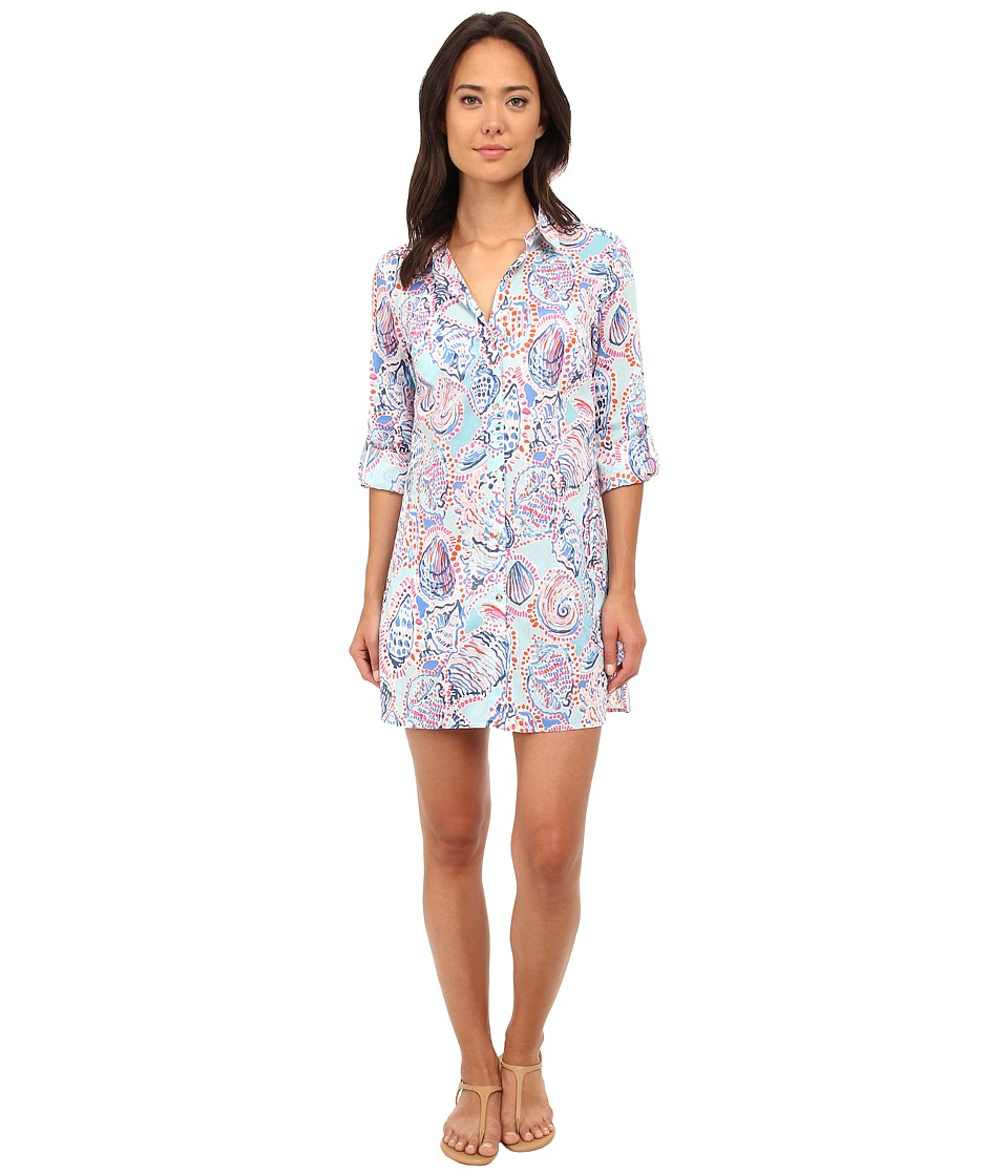 Lilly Pulitzer - Jupiter Island Cover Up (Multi) Women's Dress