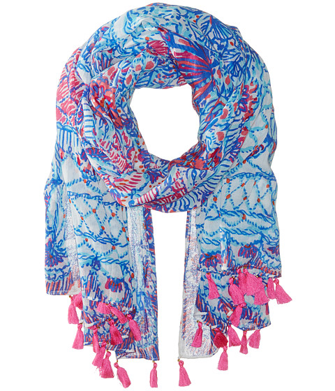 Lilly Pulitzer - Sienna Wrap (Resort White) Scarves