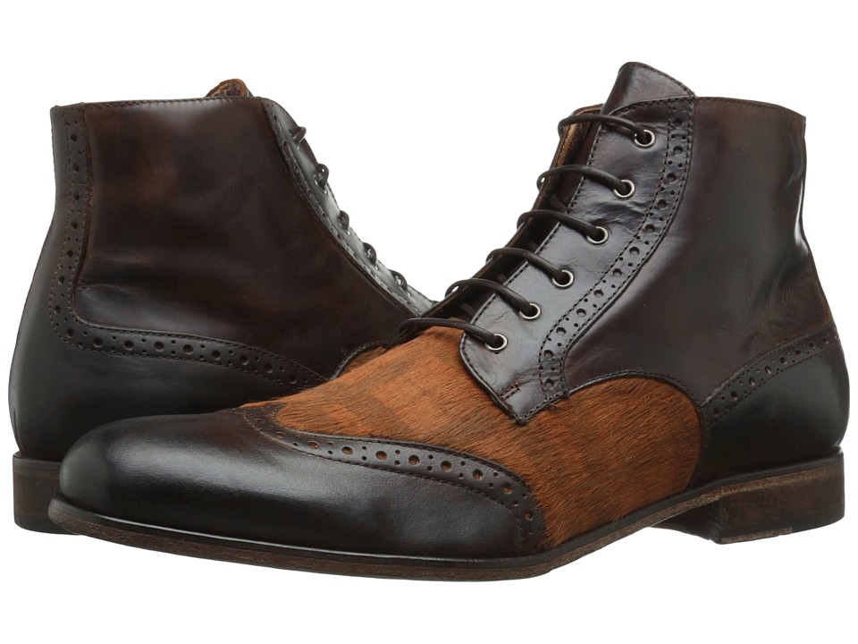 Robert Graham - Perches 2 (Dark Brown/Brown Plaid) Men