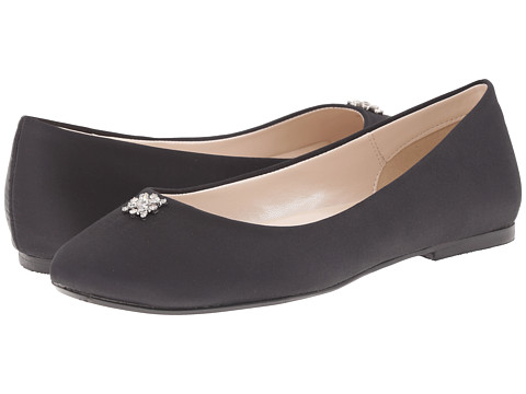 Caparros - Windfall (Black Satin) Women's Flat Shoes