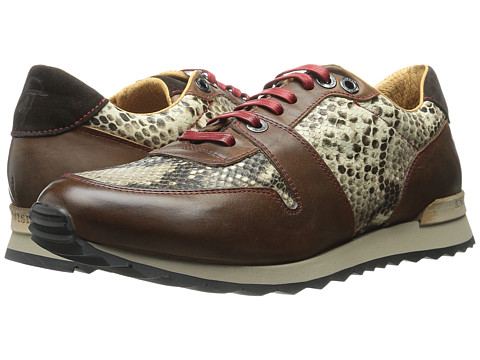 Robert Graham - Amazon 4 (Brown/Taupe) Men's Lace up casual Shoes