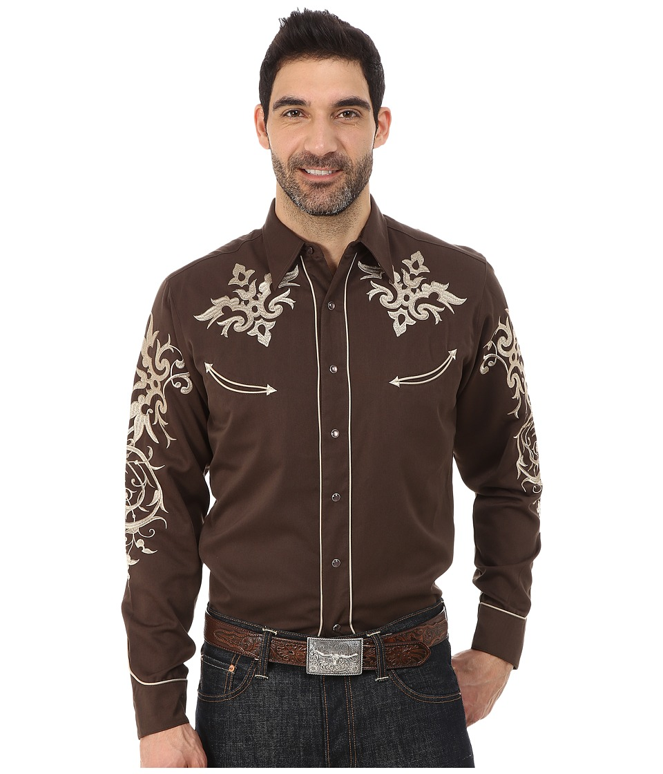 Roper - 0076 Victorian Bracket (Brown) Men's Clothing