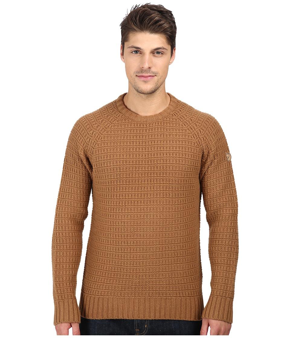 Fj llr ven - S rmland Roundneck Sweater (Chestnut) Men