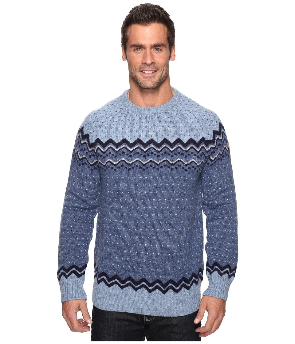 Fj llr ven - vik Knit Sweater (Blueberry) Men's Sweater