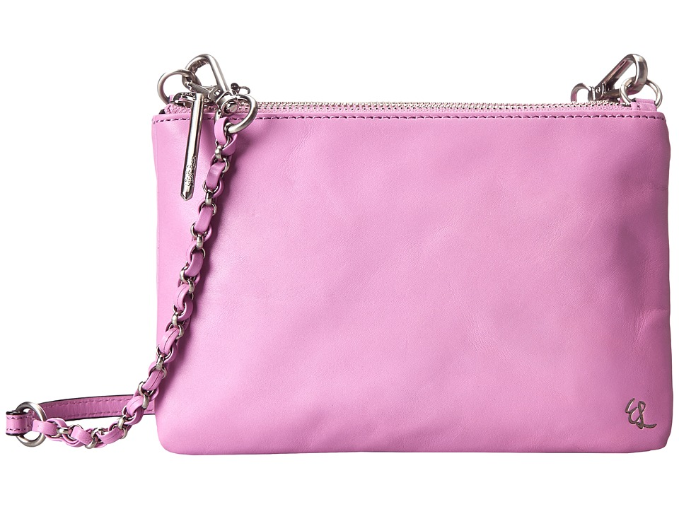 Elliott Lucca - Sacha Triple Compartment Clutch (Rosewater) Clutch Handbags