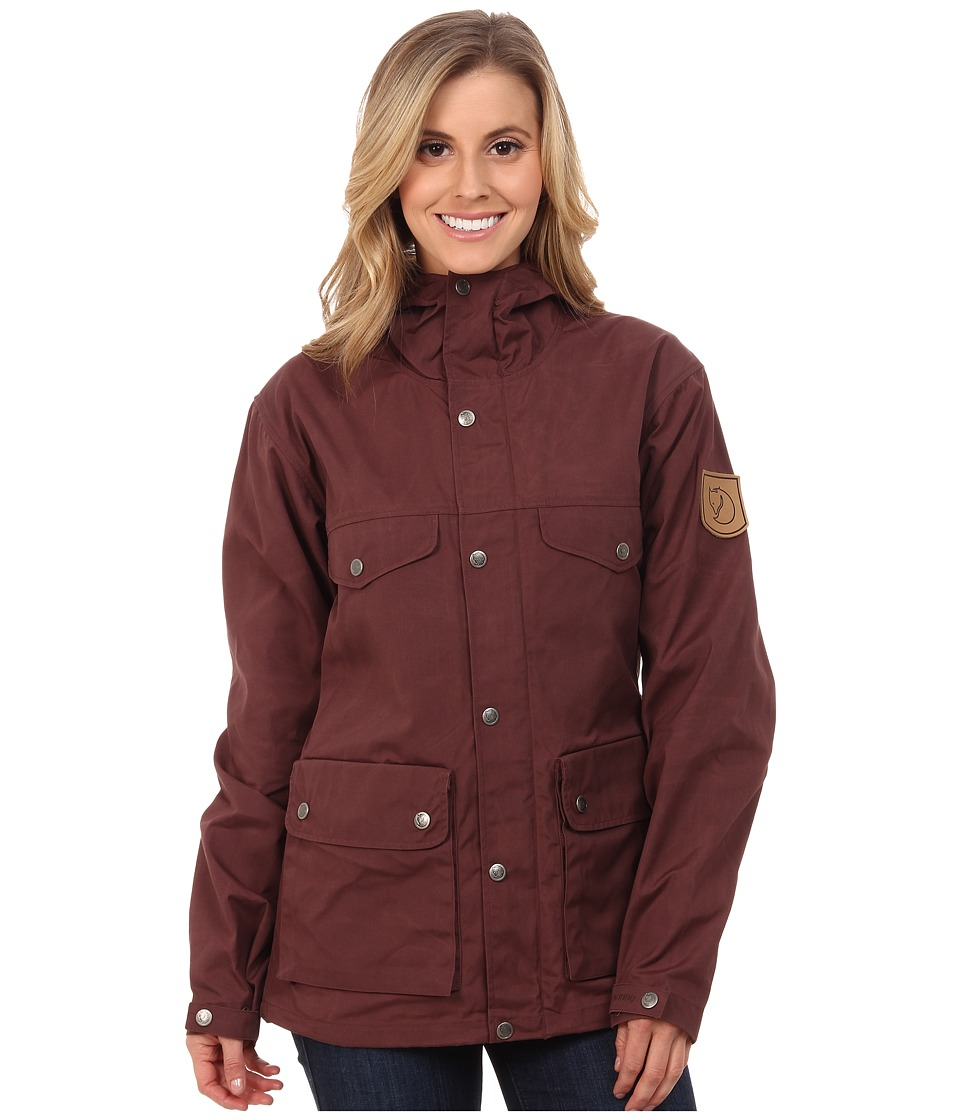 Fjallraven Greenland Jacket (Burnt Red) Women