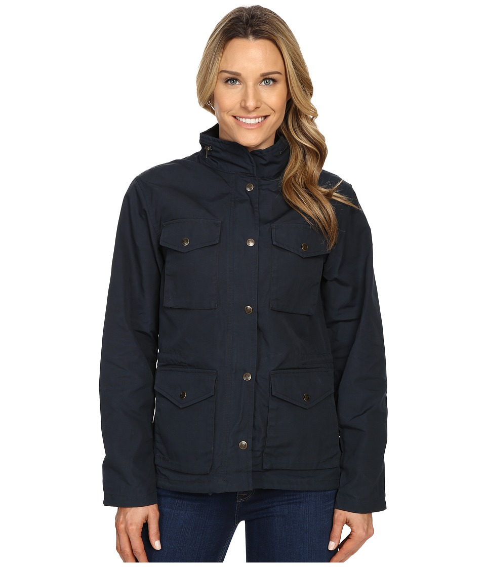 Fjallraven Raven Jacket (Dark Navy) Women