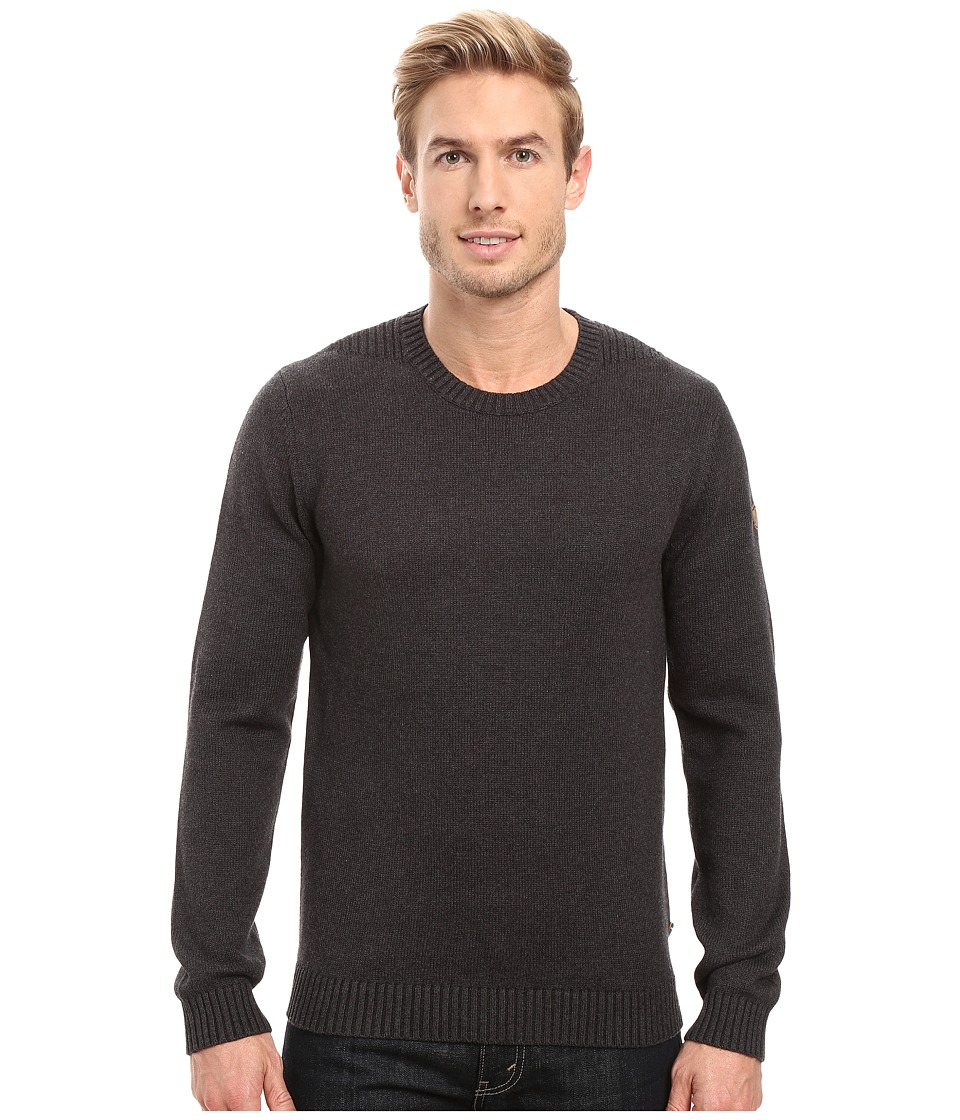 Fj llr ven - Ovik Crew Sweater (Dark Grey) Men's Sweater