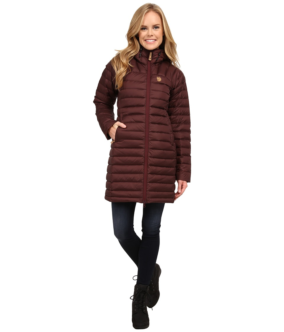 Fj llr ven - Snow Flake Parka (Burnt Red) Women's Coat