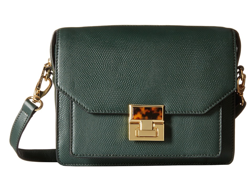 Ivanka Trump - Hopewell Top Zip Shoulder (Bottle Green) Shoulder Handbags