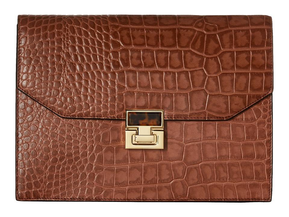 Ivanka Trump - Hopewell Clutch (Luggage) Clutch Handbags