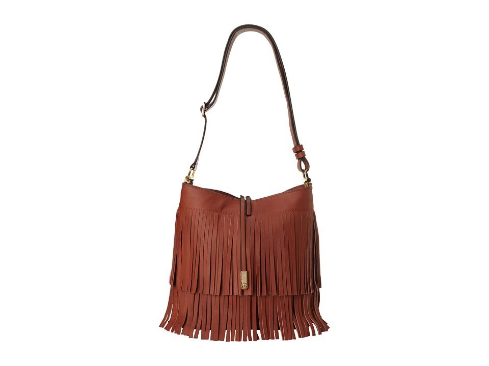 Ivanka Trump - Briarcliff Fringe Bucket (Luggage) Handbags