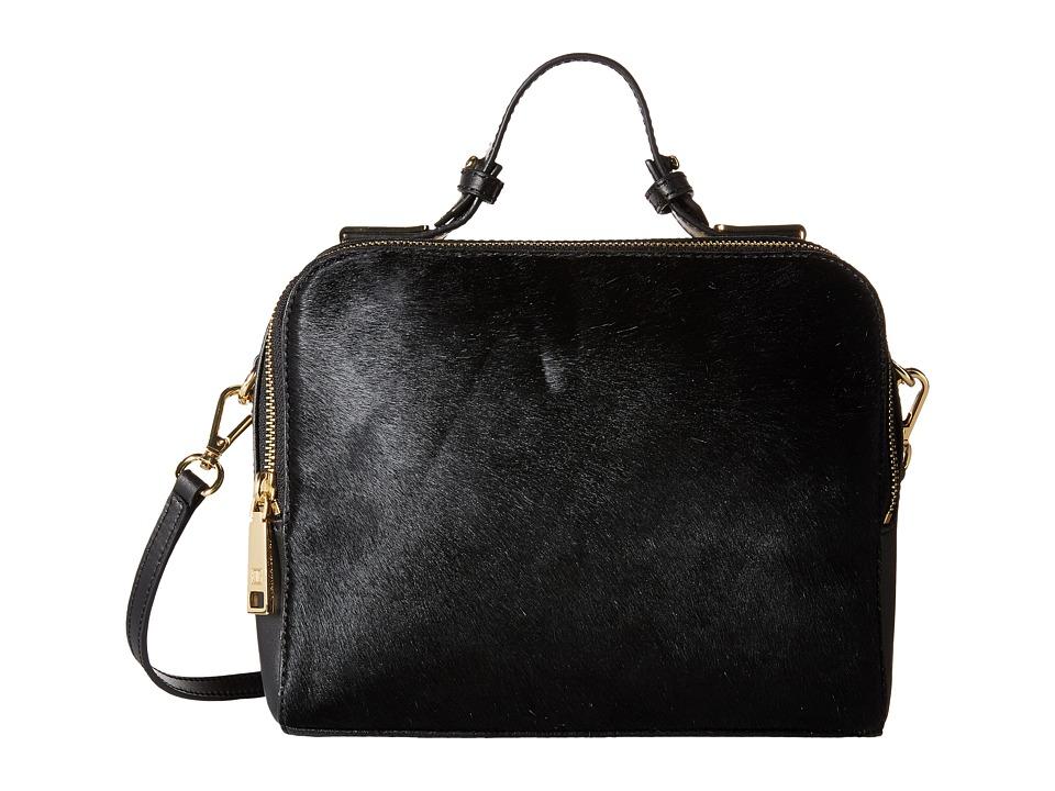 Ivanka Trump - Bedminster Box Crossbody (Black) Cross Body Handbags