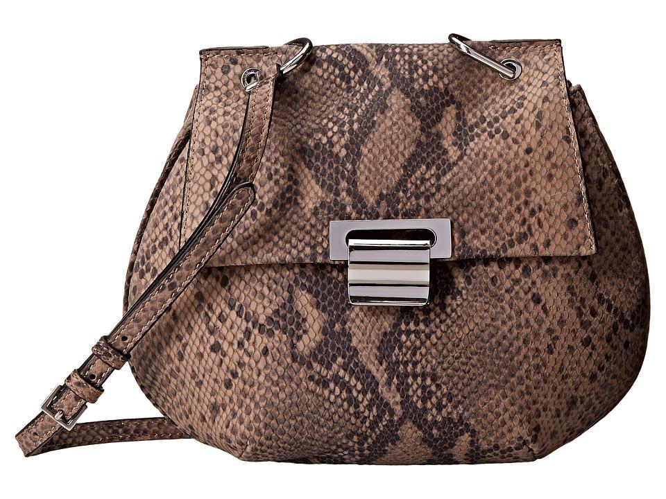 Ivanka Trump - Turnberry Pancake Crossbody (Pale Taupe) Cross Body Handbags