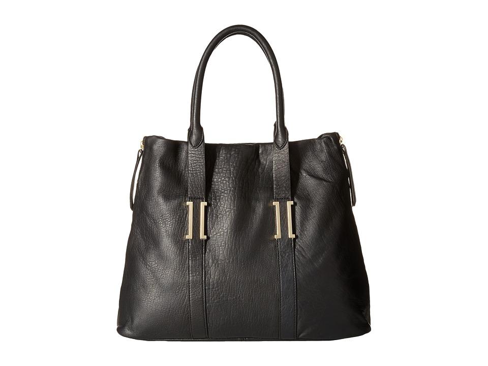 Ivanka Trump - Hudson Large Satchel (Black) Satchel Handbags
