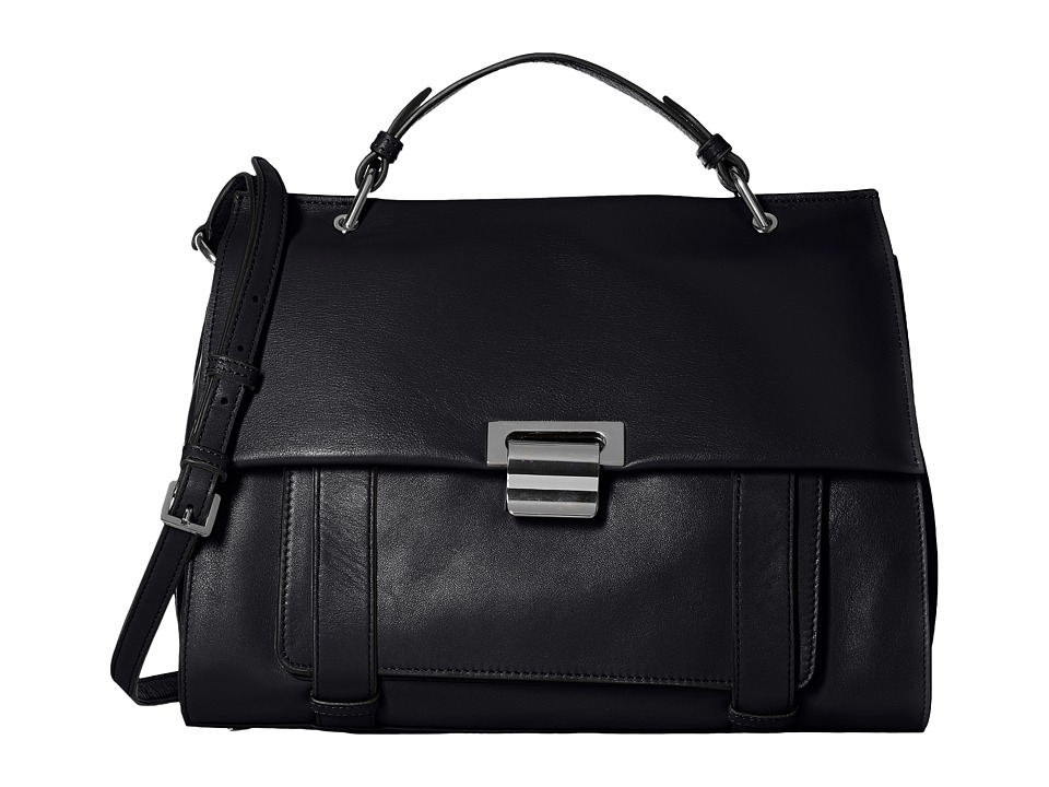 Ivanka Trump - Turnberry Satchel (Black) Satchel Handbags