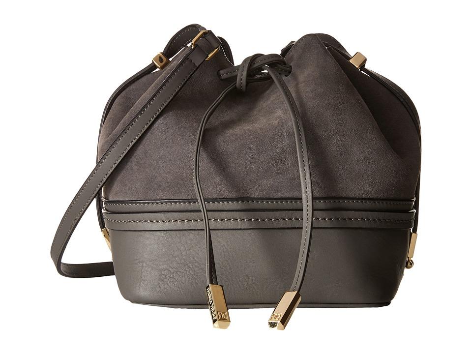 Ivanka Trump - Briarcliff Drawstring (Charcoal) Drawstring Handbags
