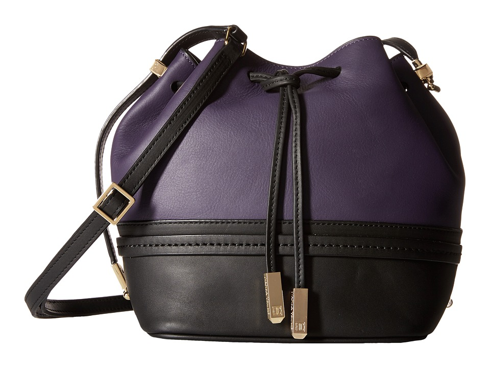 Ivanka Trump - Briarcliff Drawstring (Blackberry) Drawstring Handbags