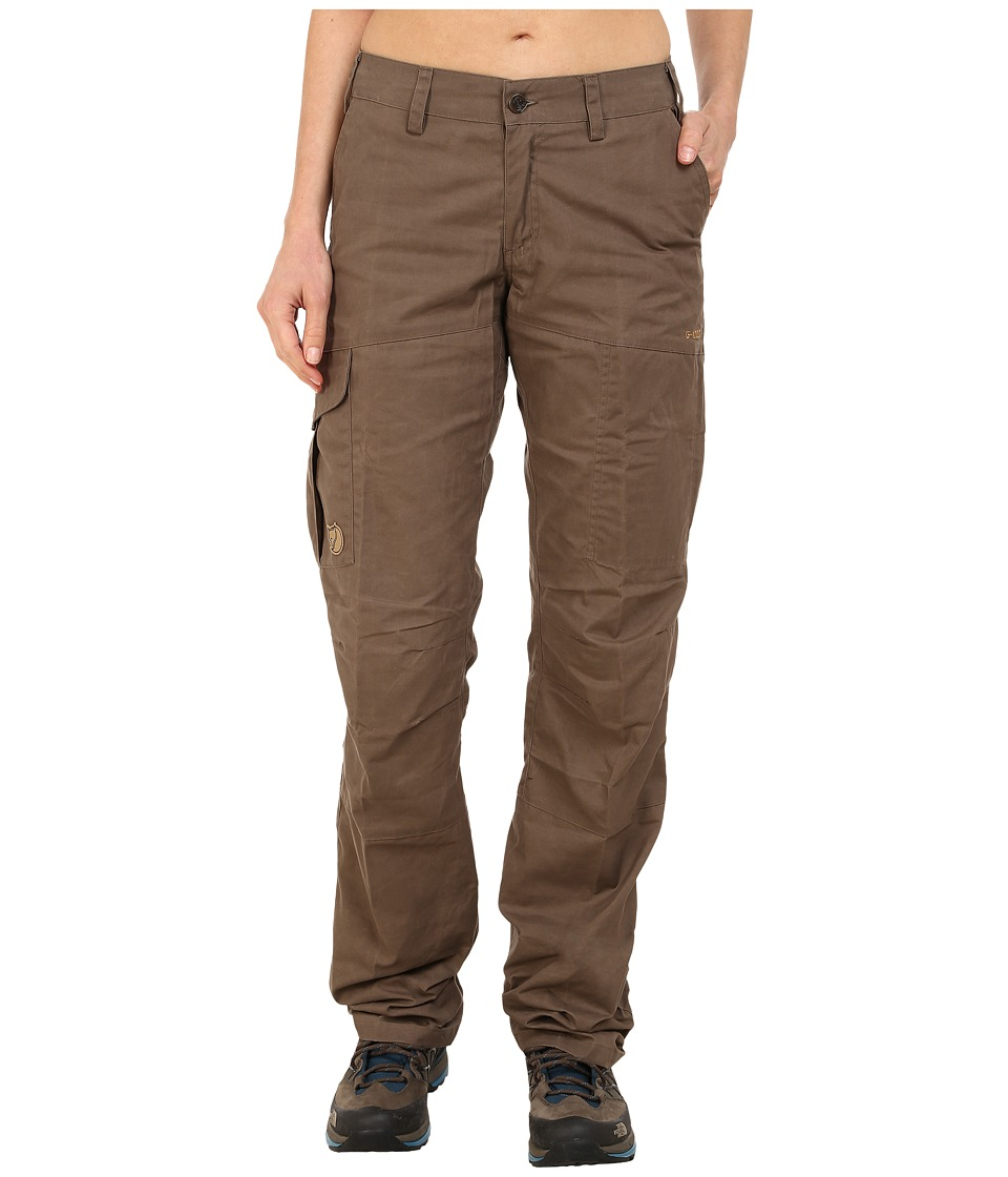 Fj llr ven - Karla Trousers (Taupe) Women's Casual Pants